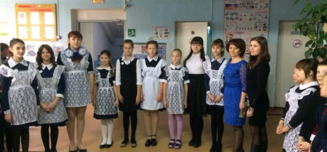 Посвящение лидеров в РДШ (Российское движение школьников)