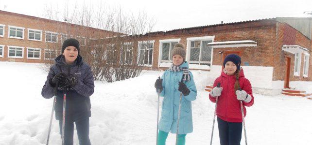 Школьный этап по лыжным гонкам