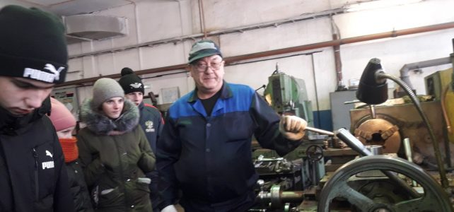 Экскурсия на шпалопропиточный завод