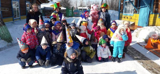 27 февраля ребята Масленицу провожали!