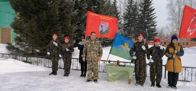 Митинг Памяти 6ой воздушно-десантной роты