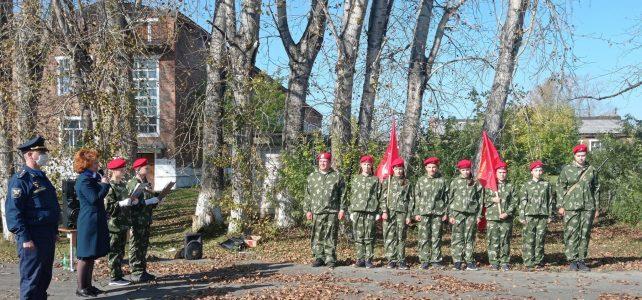 Открытие военно — спортивной полосы препятствий